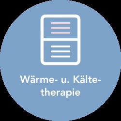Wärme- und Kältetherapie